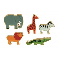 Lot de 5 animaux Crogizel