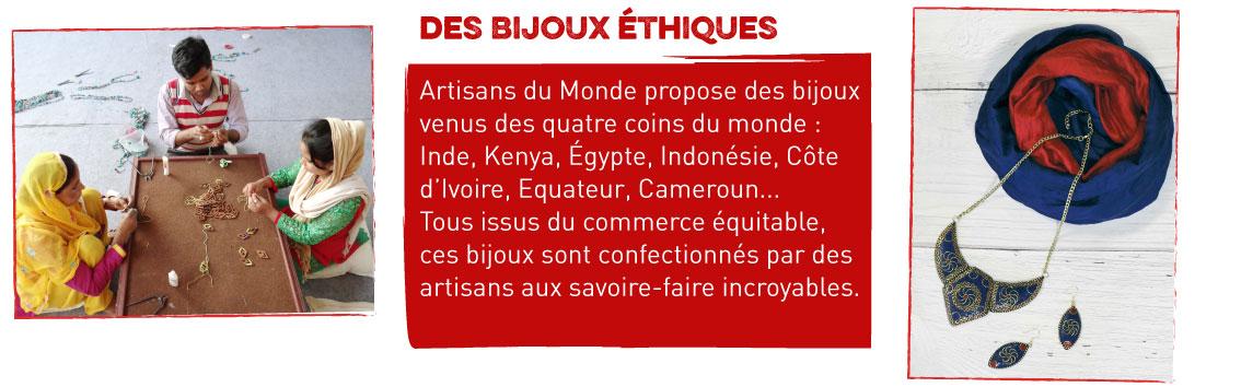 bijoux ethniques commerce équitable