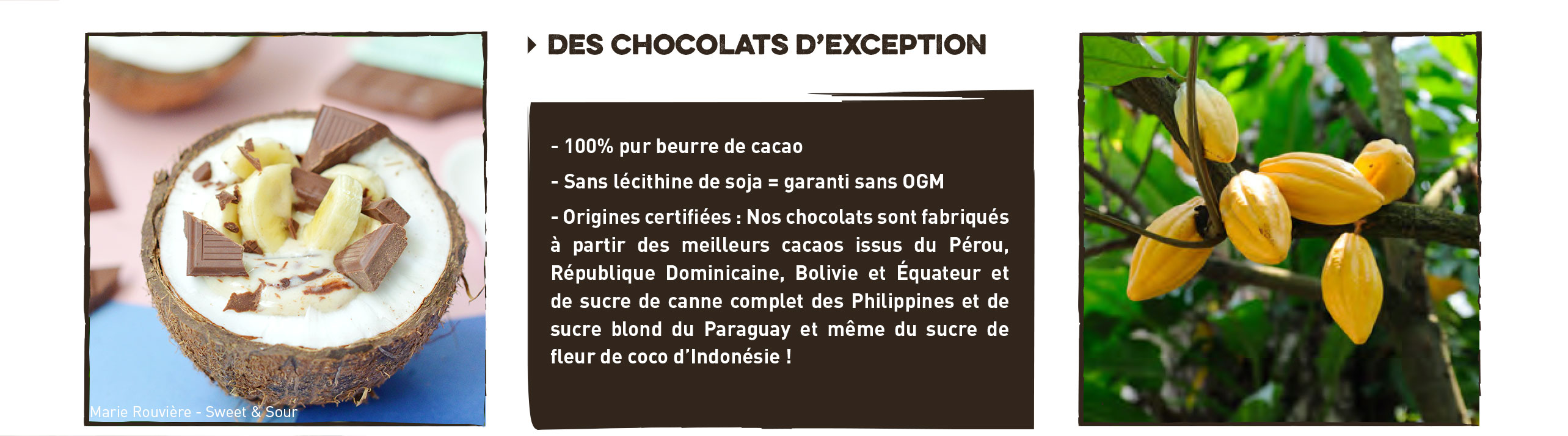 chocolats d'exeption