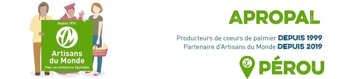 producteur coeurs de palmier bio equitable perou