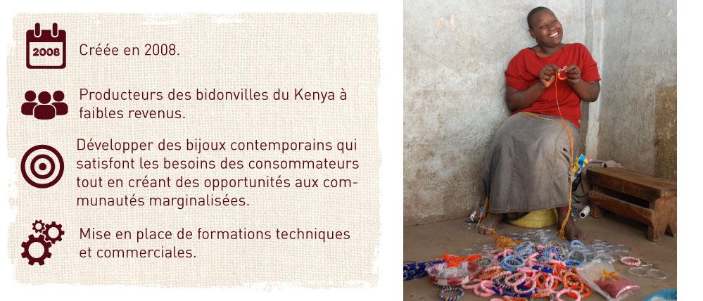 producteurs des bidonvilles du kenya