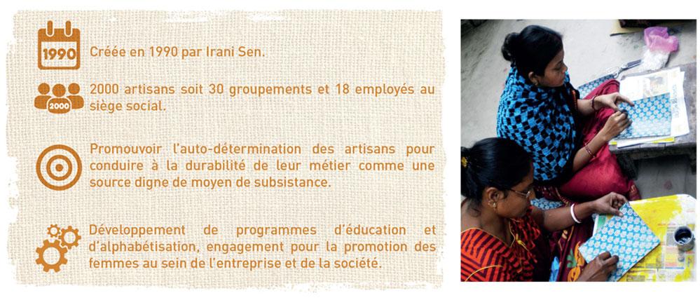 commerce equitable inde alphabetisation artisans