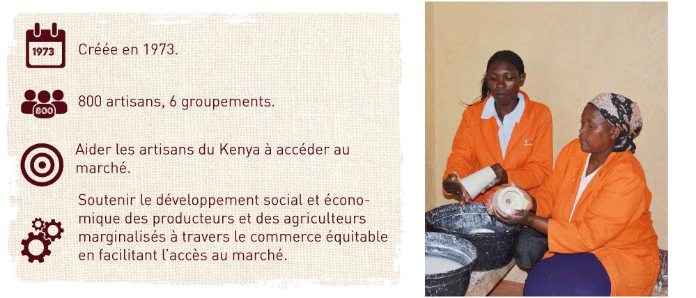 aider les artisans du kenya pour accéder au marché