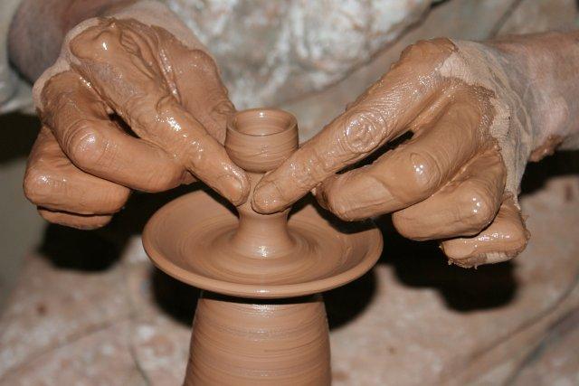 Céramique d'Hébron, Palestine, Artisans du Monde