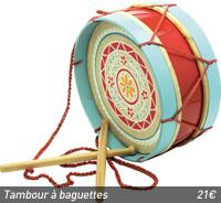 Tambour à baguettes, Artisans du Monde
