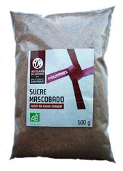 Mascobado : sucre complet de canne issu du commerce équitable