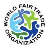 Logo WFTO-Organisation Mondiale du Commerce Equitable