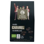Carrés Caramel salé bio 100g *