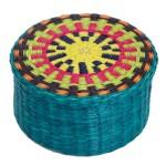 boite fibre palmier bleu equitable
