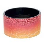 bracelet rouge orange manchette