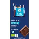 Chocolat au lait intense bio et équitable