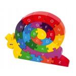 puzzle escargot alphabet
