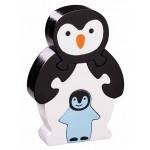 puzzle pingouin bois