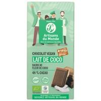 Chocolat vegan bio équitable coco