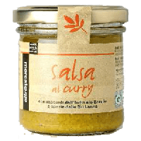 Sauce au curry et cajou, 130g