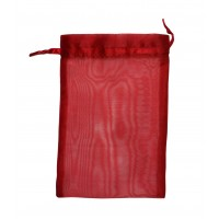 Lot de 10 Sachets bijoux rouge G