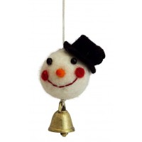 Bonhomme de neige Clochette