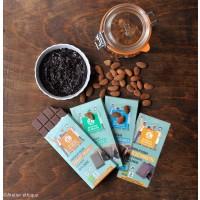 Chocolats vegan coco, noisettes, amandes