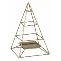 porte bijoux pyramide dore equitable