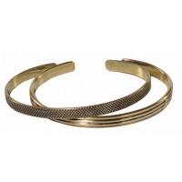joncs bracelets dorés equitable