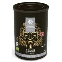 cafe perou doux boite metal bio equitable