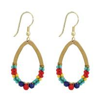 boucles multicolores