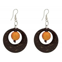 boucles coco orange