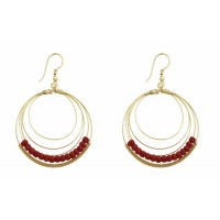 boucles dorees rondes equitable