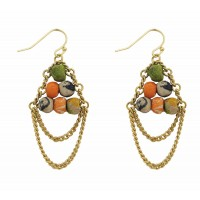 boucles oreilles sari recycle commerce equitable