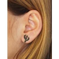 boucles oreilles cactus