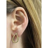 Boucles d'oreilles goutte