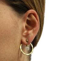 Boucles d'oreilles perles équitables