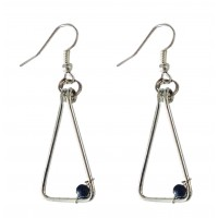 Boucles pendantes triangle