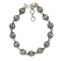 bracelet argente equitable artisanat