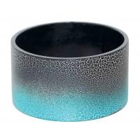 bracelet manchette bleu