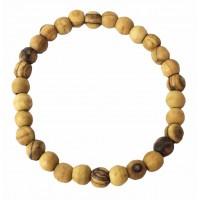 bracelet en bois d'olivier