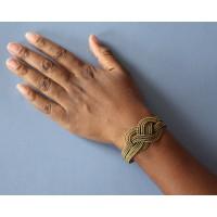 bracelet dore noeud