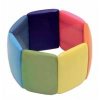 bracelet multicolore equitable