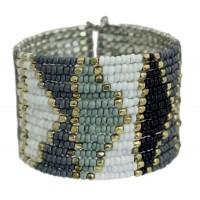 Bracelet perles manchette