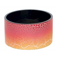 bracelet rouge orange manchette