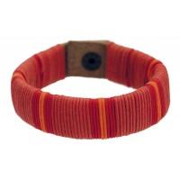 bracelet cuir coton equitable