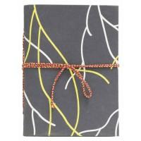 carnet branche noir jaune equitable
