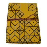 carnet jaune noir
