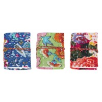 lot 3 carnets coton recyclé