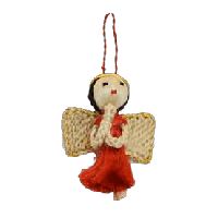 Angelot jute rouge