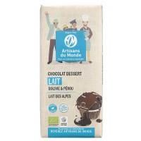 chocolat dessert lait bio equitable