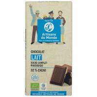 Chocolat au lait équitable