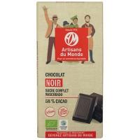 Chocolat noir bio et équitable