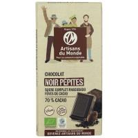 Chocolat noir pépites bio et équitable