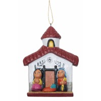 creche noel suspendre sapin commerce equitable